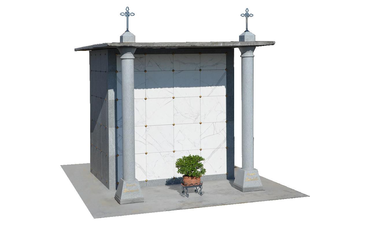 Asta per la concessione della durata di novantanove anni (99) di 7 tombe di famiglia cimitero di Molinetto