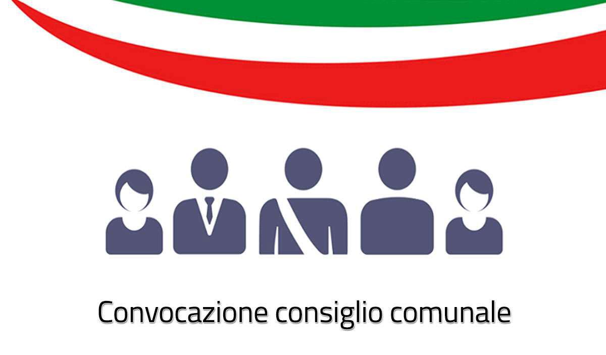 RIUNIONE DEL CONSIGLIO COMUNALE IN SEDUTA ORDINARIA -  LUNEDI' 24 AGOSTO 2020  ALLE ORE 20:30 - PRESSO LA SALA CONSILIARE